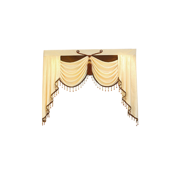 Home Decoration 1 Piece Pelmet Europe Luxury Valance Curtains for Living Room Window Curtains for Bedroom Curtains Custom Made