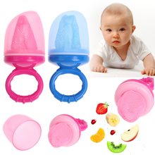 Baby Pacifier Nipple Fresh Food Milk Nibbler Feeder Feeding Safety Silicone Baby Chew Infant Fruit