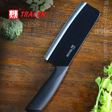 Meat Artifact Germany antimicrobial Free ground black ceramic meat knife+ blade knife can slicing vegetable/ fish / pepper Hot
