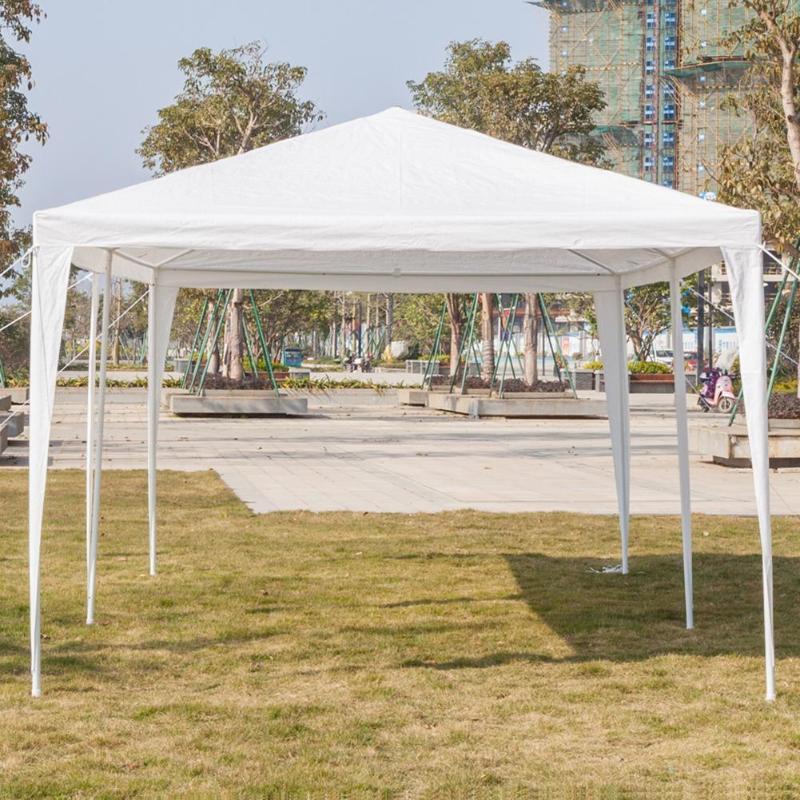 3x9 m imperméable Parking hangar fête de mariage Camping en plein air cinq côtés tente E5M1
