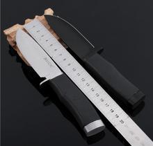 Frete Grátis Tamanho Grande Camping knife & canivete de Aço Inoxidável & folding faca que tem um punho confortável