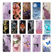 лучшая цена Silicone Cover For Huawei Honor 8X BKK-L21 BKK l21 Soft cool Back Cover Case For Huawei Honor 8X 8C Painting Protect Phone shell