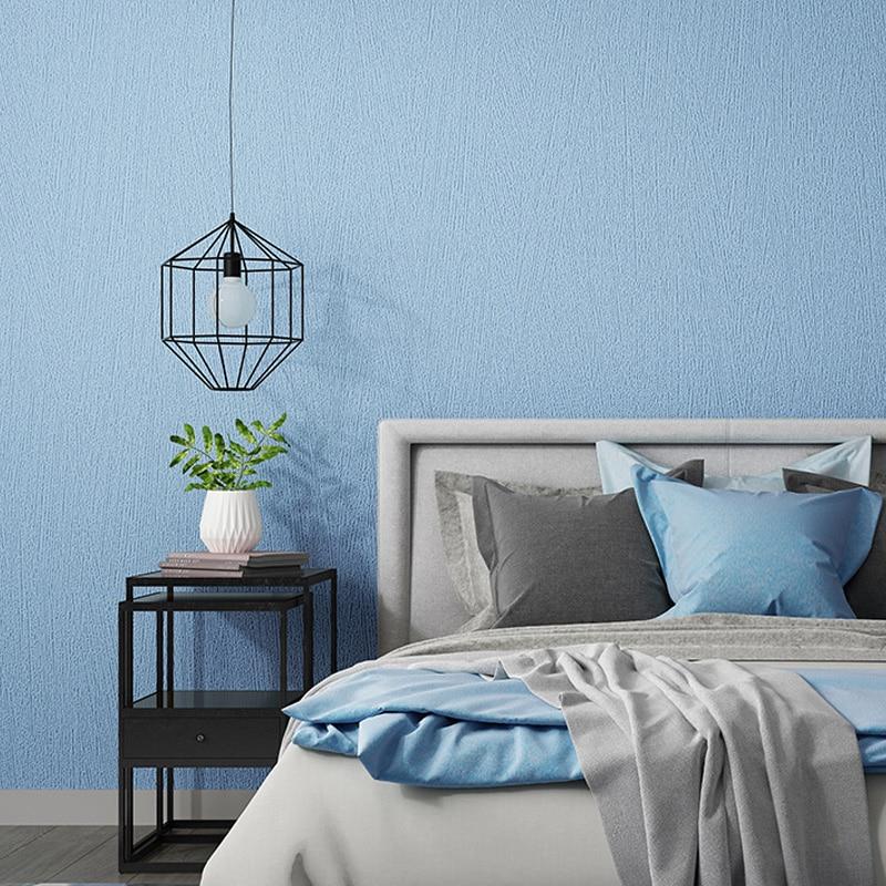 Decor Solid Color Grey Blue Waterproof