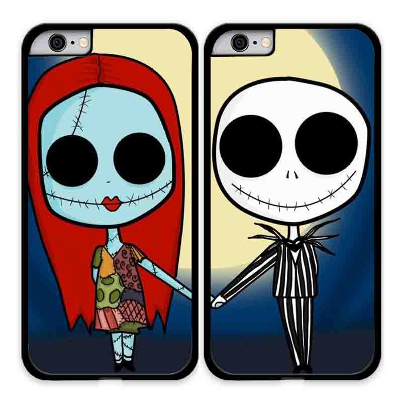 Jack and Sally Lover Couple Phone Covers For Apple iPhone 6 Case ...
