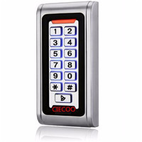 Backlight Metal shell IP68 waterproof RFID 125Khz EM ID Smart card entry lock Keypad Standalone Door Access Control system