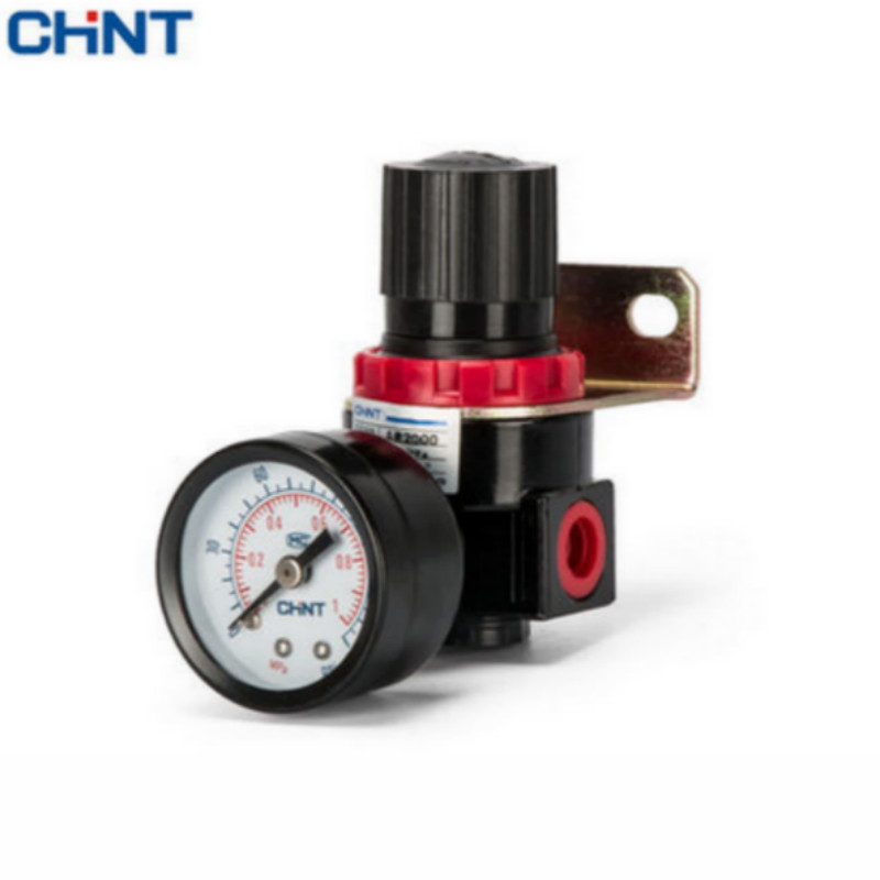CHINT Adjustable Pressure Valve Adjust Valve Pneumatic Air Pump Precise Pressure 90kpa electric pressure cooker safety valve pressure relief valve pressure limiting valve steam exhaust valve