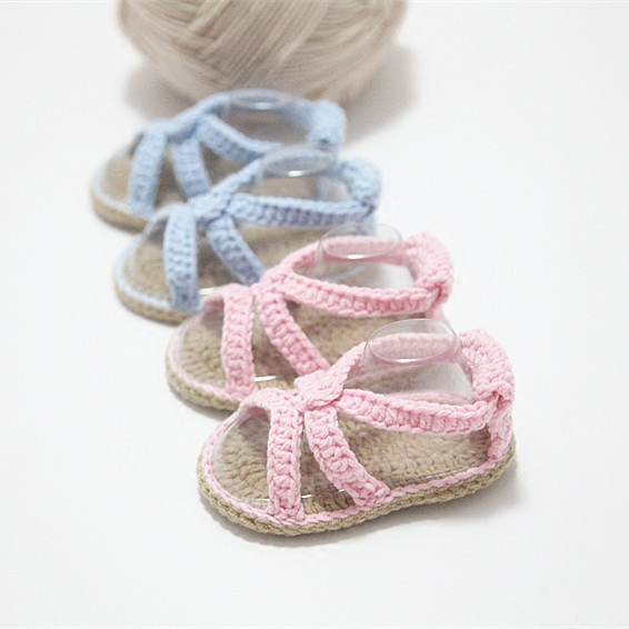 QYFLYXUESweet, Handmade, Simple, Baby, Shoes, Soft Soles, Sandals And Shoes. Baby Girl Sandals