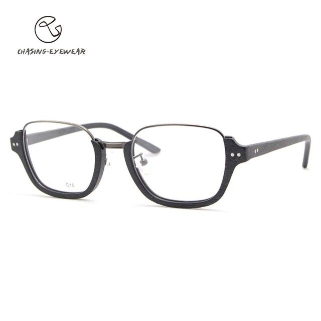 2016 brand designer clear Lens  acetate optical frame Glasses eyewear frames Female Men women eyeglasses oculos de grau CS1158