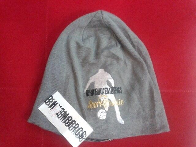 Bikkembergs Dirk invierno nuevos hombres ganador gorro de lana sombrero