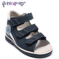 44182861f PRINCEPARD genuino cuero tobillo sandalias para niños zapatos ortopédicos  para niños ortopédicos sandalias