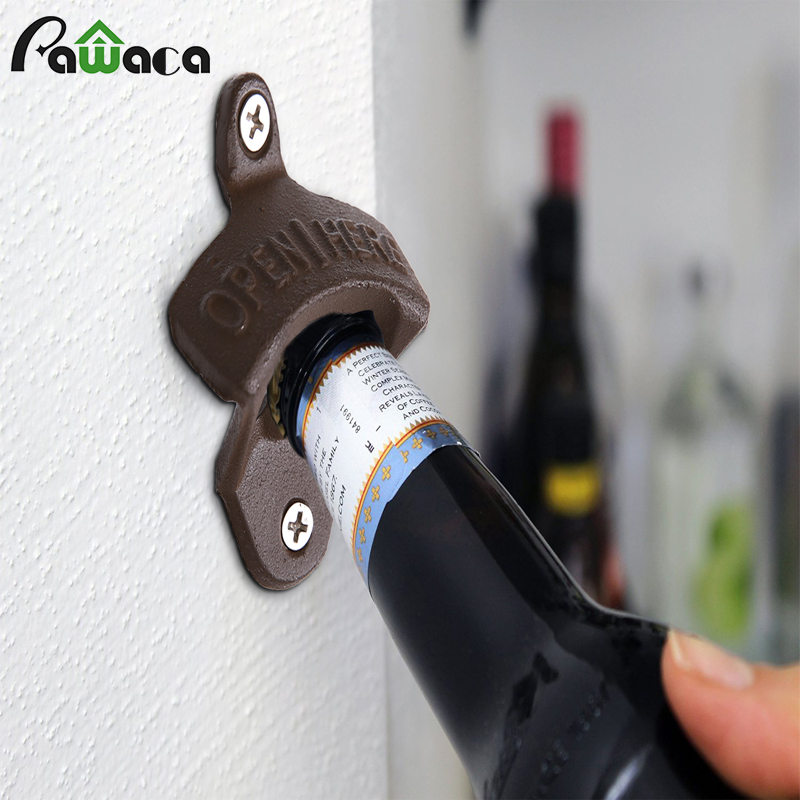 Aliexpress Com Buy Classic Open Here Wall Mounted Wine