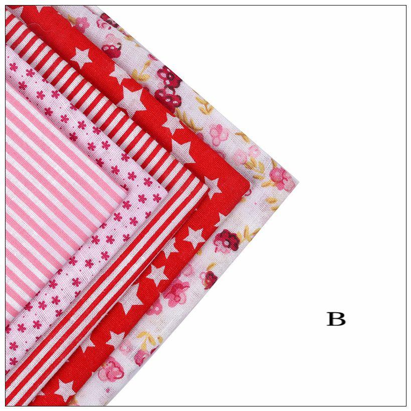 7095800b46eb 34 lots Pianura Tessuto di Cotone Sottile Patchwork Per DIY Quilting Tessuto  Da Cucire Fat Quarters Bundle Telas Tilda ricamo Tags