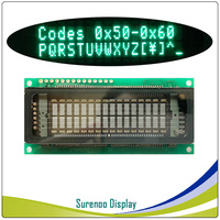 1602 16X2 VFD Display KH162SD01 Compatible 16T202DA2 M162SD07FA CU16025 162 LCD Module, Support Serial SPI I2C for Arduino