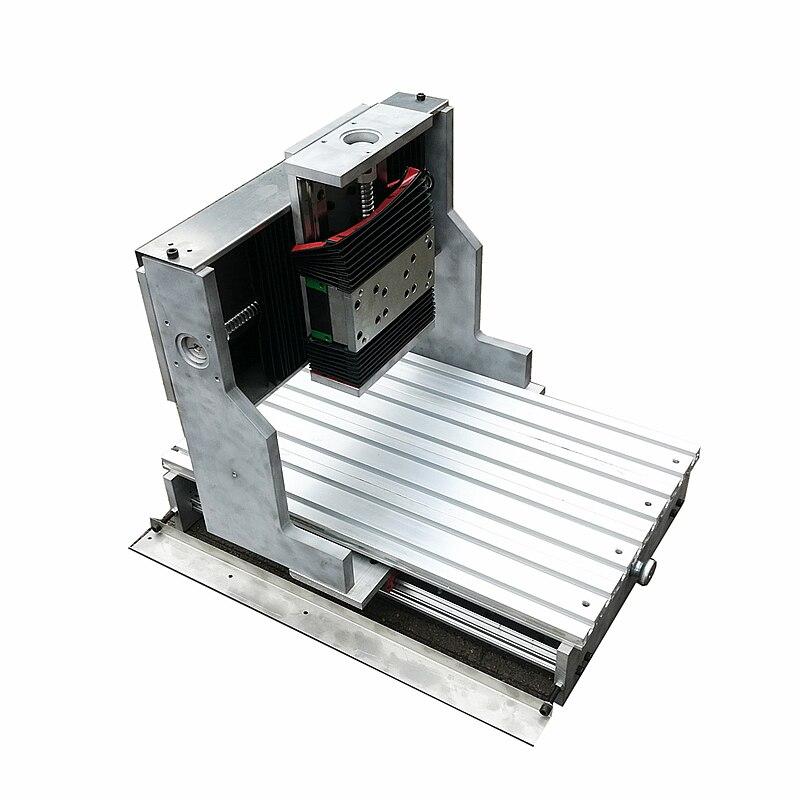 Kit de cadre de précision 3040 CNC Rail de guidage linéaire TRH20 pince de broche 80mm pour fraiseuse bricolage