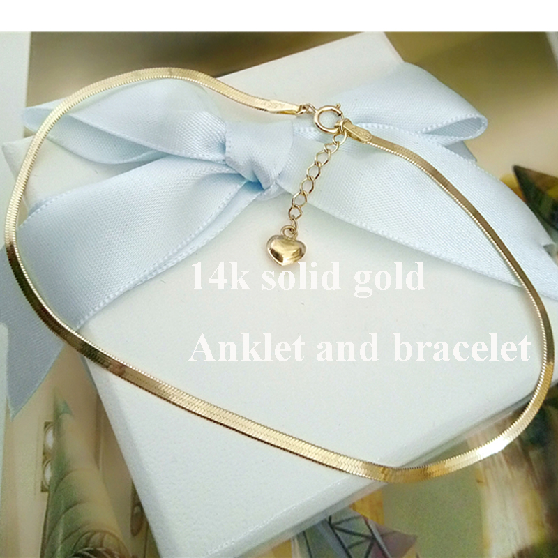 real gold jewelry for women snake chain bracelet