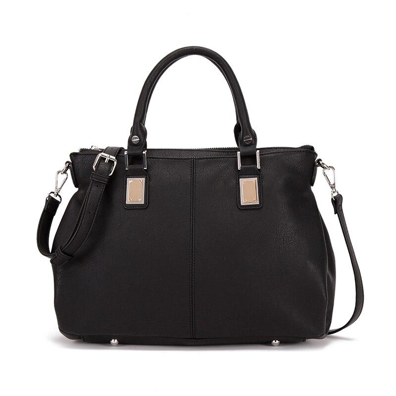 Black Tote Bag Long Straps Promotion-Shop for Promotional Black ...
