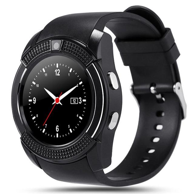 V8 Montre Smart Watch Bluetooth TF SIM Appel Anti-perdu Pour Android ISO Apple iPhone Smartwatch Sport bracelet Musique Tactile Montre Z60 A1