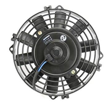 Aire acondicionado 8 ''condensador eléctrico ventilador de refrigeración Universal 24 V negro para Calle/rata/Hot Rod clásico músculo coche
