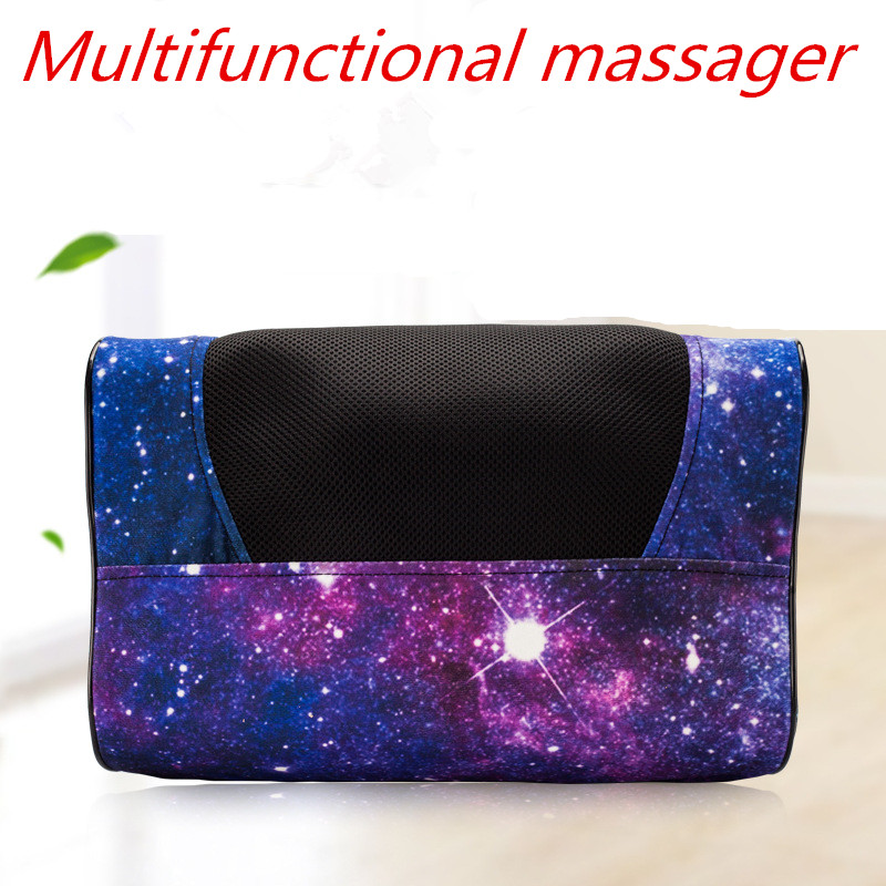 8D Relaxation Massage Pillow Vibrator Electric Shoulder Back Heating Kneading Infrared therapy for shiatsu Neck Massage 8D Relaxation Massage Pillow Vibrator Electric Shoulder Back Heating Kneading Infrared therapy for shiatsu Neck Massage