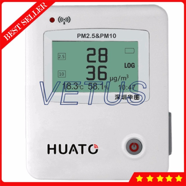 S600-PM 3 Channels High quality PM2.5 PM10 Detector USB Dust Meter with 43000 groups Temperature Humidity Data Logger
