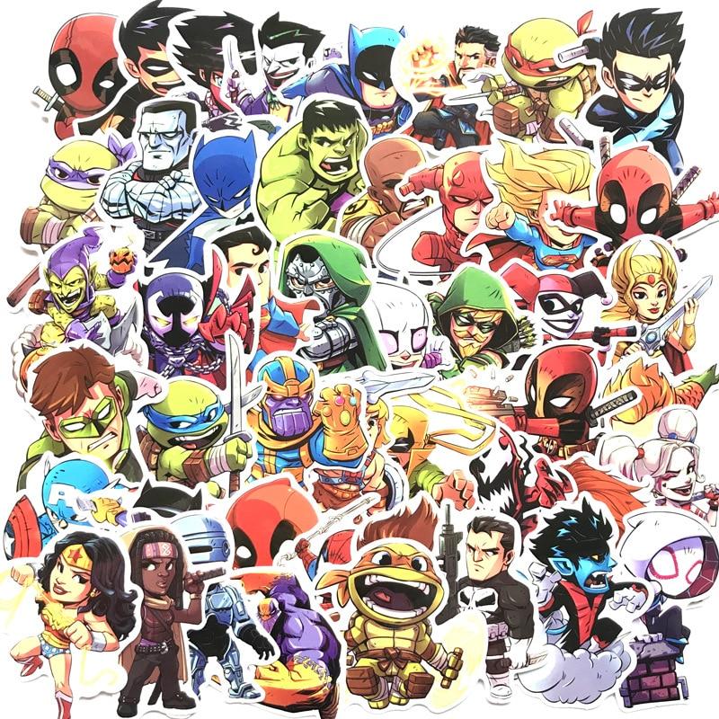 Marvel Mad Titan Thanos VINYL DECAL LAPTOP  Skateboard Sticker bomb