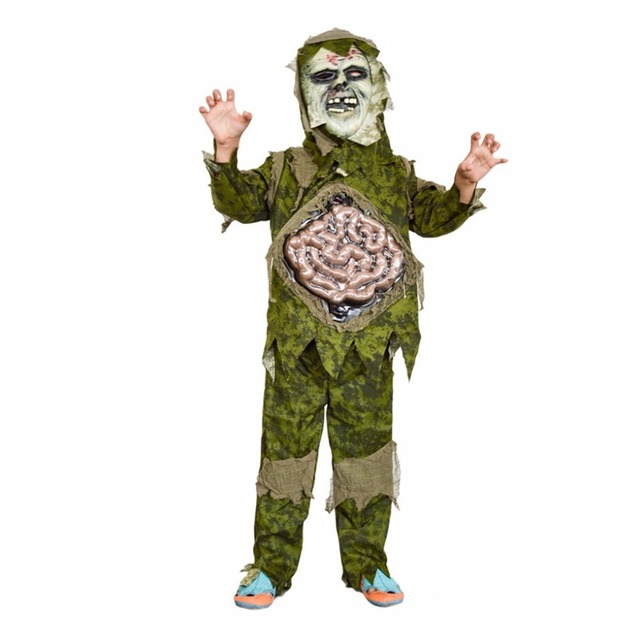 shanghai story children costume kid halloween cosplay scary zombie ghost large intestines costume stage clothing