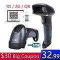 Портативный USB 2D сканер штрих-кодов компьютерный экран мобильный платеж USB 1D 2D QR сканер штрих-кодов