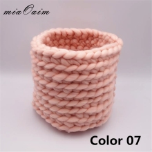 miaoaim Handmade Honey Pot Finger Crochet Nest Basket