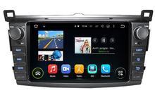 Android 6.0.1 octa core 8 core 1024*600 HD lecteur dvd de voiture pour Toyota RAV4 RAV 4 2013-2016 gps magnétophone tête unités RADIO