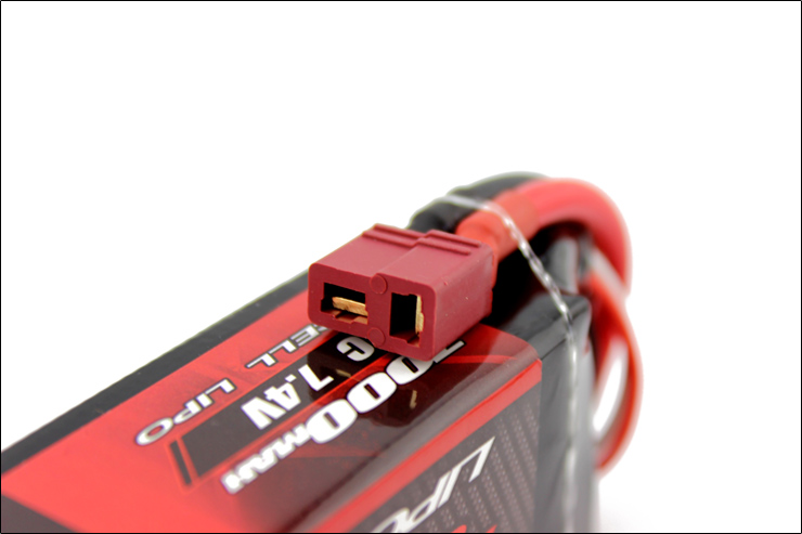 2 pcs LEOPARDO Lipo 40C 2 s 7000 mah Bateria Lipo 7.4 v Bateria para 1/10 de Carro RC 1/8 carro para Traxxas BARRA E REVO TR 4 FLUXO NERO - 3