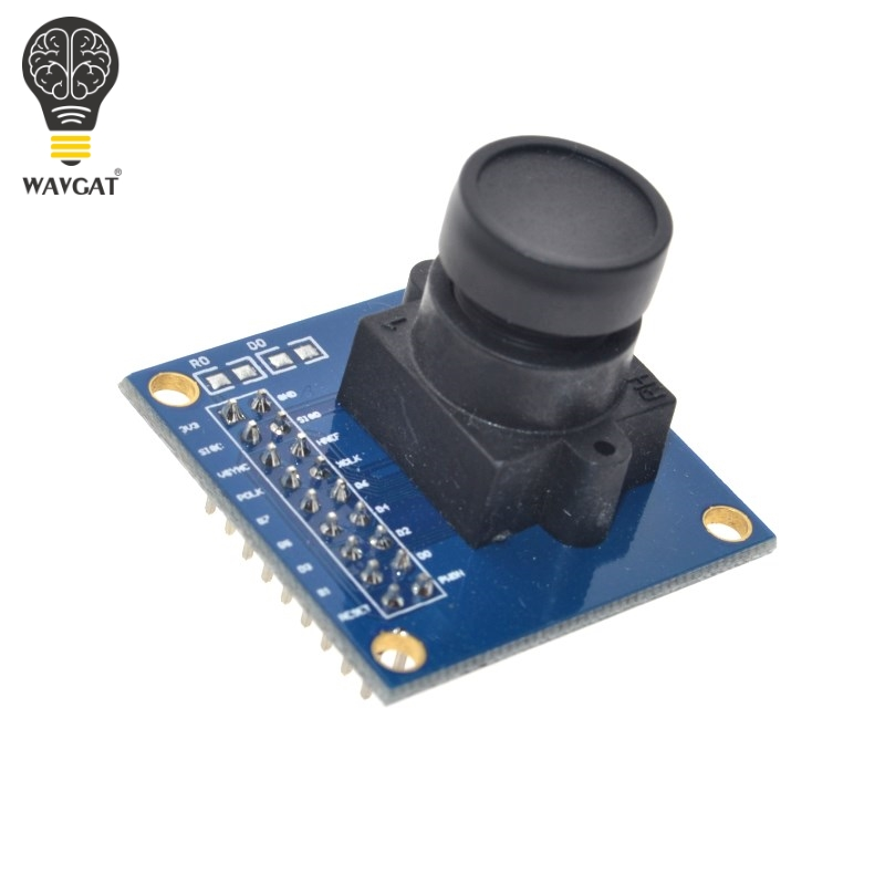 Image 4 - WAVGAT OV7670 camera module OV7670 moduleSupports VGA CIF auto exposure control display active size 640X480 For Arduino-in Integrated Circuits from Electronic Components & Supplies