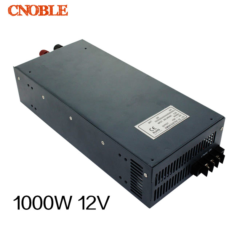 1000W 12V 80A 220V INPUT Single Output Switching power supply for LED Strip light AC to DC 500w 72v 6 9a 220v input single output switching power supply for led strip light ac to dc