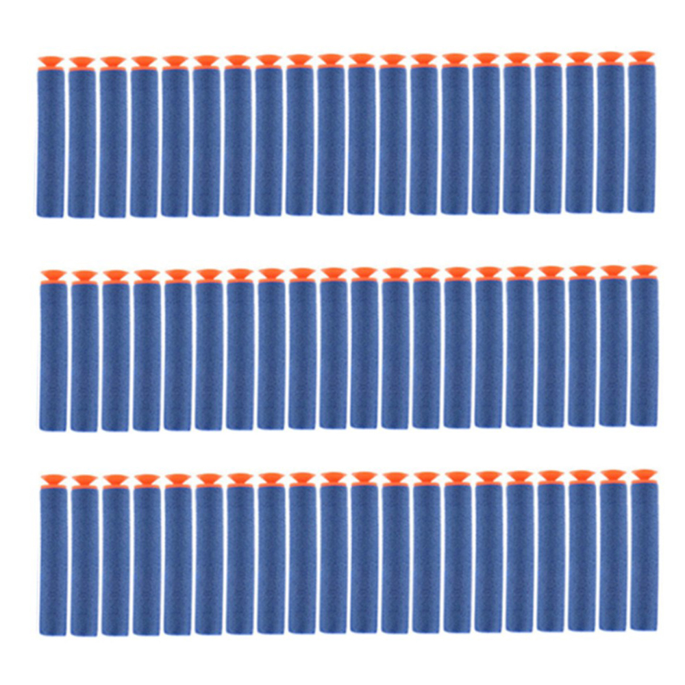 100pcs 7.2cm Refill Darts Sucker Head Toy Bullet For Nerf Series Toy Gun Rifle Blaster Dart Outdoor Fun Sports For Nerf Bullets