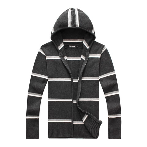 RICHARDROGER font b Men b font FashionKnitwear Casual font b Sweaters b font Tops Hooded font