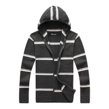 RICHARDROGER  Men FashionKnitwear Casual Sweaters Tops Hooded Sweaters Pullover Coat 088