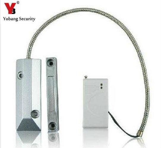YobangSecurity Wireless Magnetometer Roller Shutter Rolling Door Sensor 433M EV1527 Wireless Magetic Contact Door Window Sensor