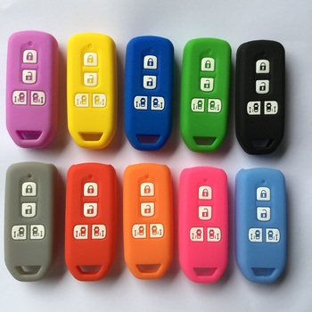 מקרה מפתח רכב אביזרי מרחוק מחזיק להגן על תיקון עבור הונדה NBOX Custom N-BOX בתוספת N wagon N WGN 4 כפתור הזזה דלתות מפתח
