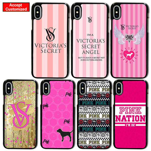 check out ff693 1c33e US $2.8 |Pink Case for iPhone 5 5S SE 6 6S 7 8 Plus X XS Max XR Victoria  Cover for Samsung Galaxy S6 S7 S8 S9 Edge Plus Note 8 9 Secret-in ...