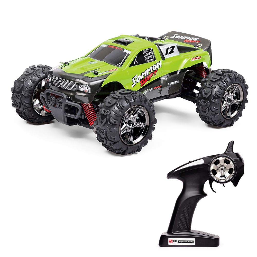 Fast Electric RC Drift Cars 1/24 Scale High Speed 40KM/H RC Monster Truck Off Road Remote Control Cars for Kids and Adults
