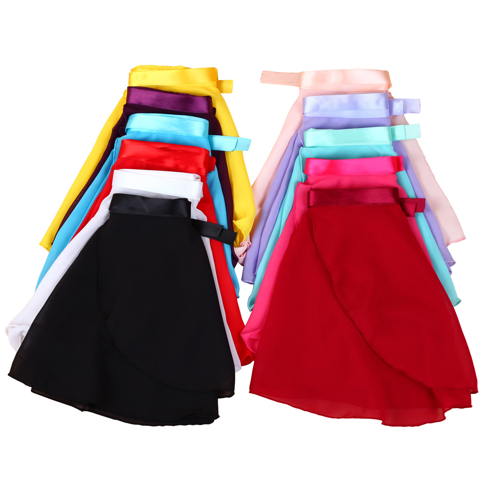 2016 New Skate Summer Chiffon Elastic Ballet Dance Tulle Skirt For Girl Kids Tutu Ballerina Infantil Gymnastics Leotard For Sale
