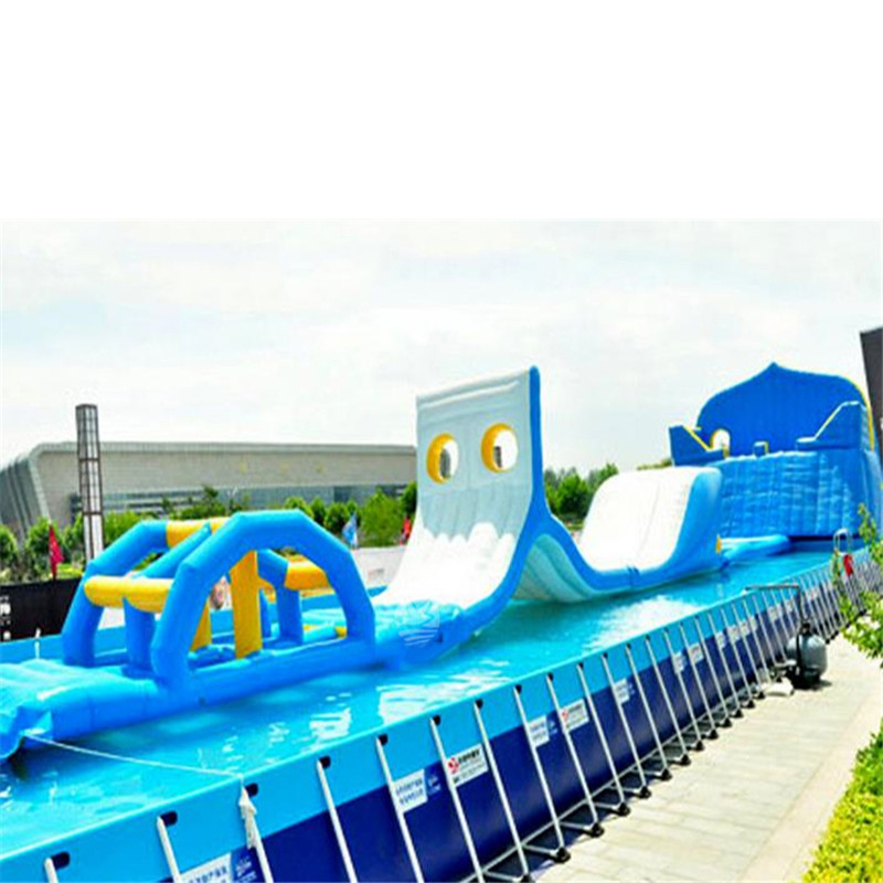 Inflatable Water Patrol Combination, Large Bracket Pool Flushing Combination, Water Toy Water Park Equipment