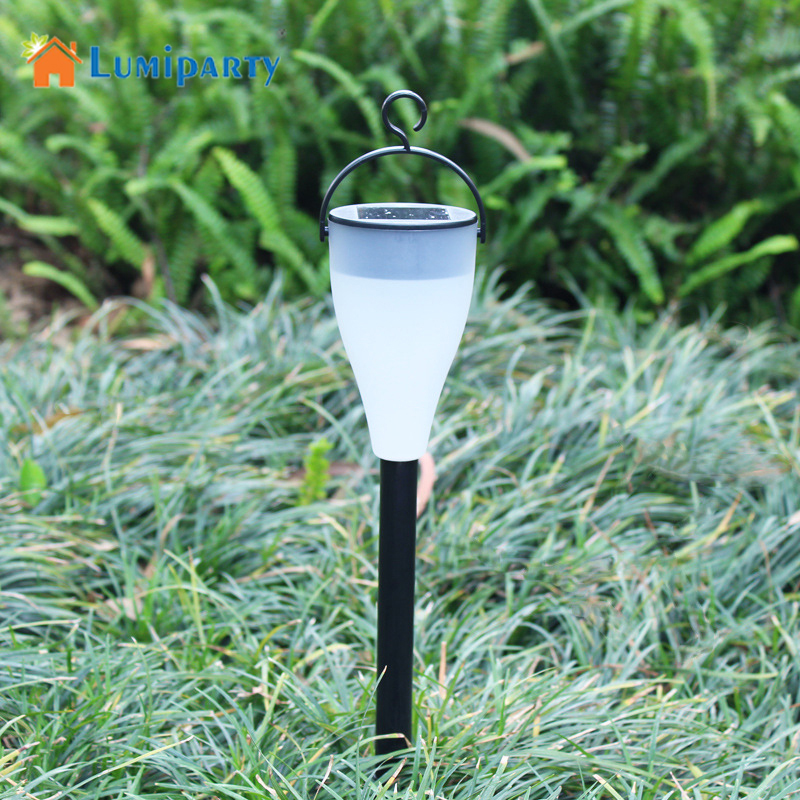 LumiParty New Hot Mini Shine Solar Powered Color Changing Garden Outdoor Waterproof Yard Light Lawn Decoration lighting
