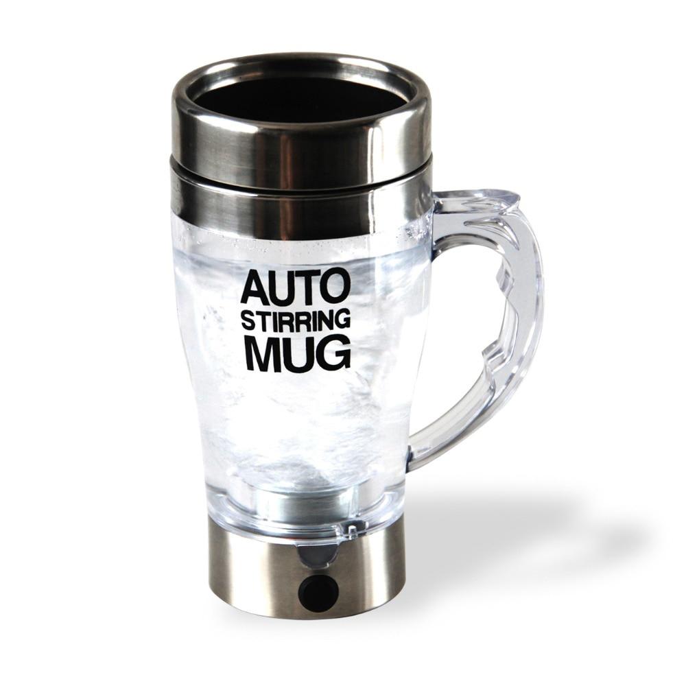 Self Stirring Coffee Cup Mugs Double Insulated Coffee Mug 350ml Automatic Electric Juice Cups Smart Mugs