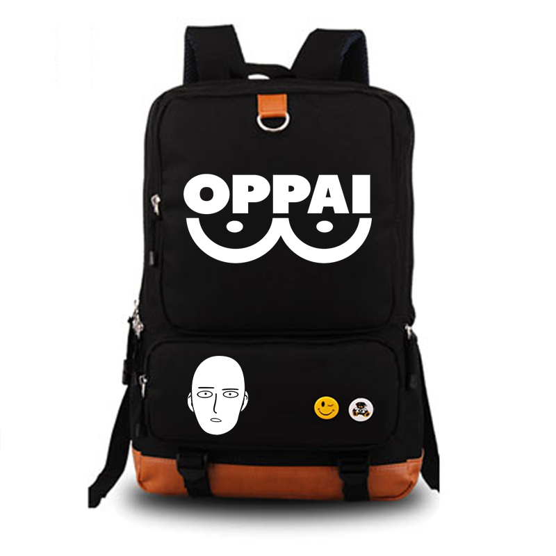 ONE PUNCH-MAN Anime school bag backpack student school bag Notebook backpack Daily backpack