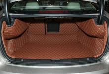 Good quality! Special trunk mats for Volvo S60 Inion 2016-2013 waterproof durable boot carpets for S60 Inion 2017,Free shipping