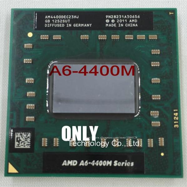 2.7GHz,1MB cache AMD A6-4400M Series CPU // Processor AM4400DEC23HJ Dual-Core
