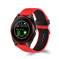 V9 Smart Watch Support Nano SIM Card And TF Card Smartwatch With Whatsapp And Facebook Fitness Smartwatch For IOS Android Phone