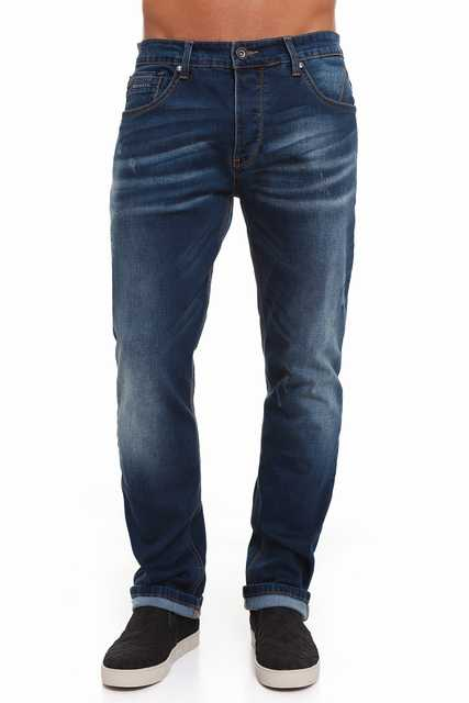 Crosshatch Men Cowboy Keiran Casual Straight CH2B111477DW3STK Color Dark Wash
