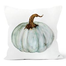цена 4 Pcs Throw Pillow Happy Fall Yall Pumpkin Halloween Thanksgiving Decoration Cotton Blend Cushion Cover