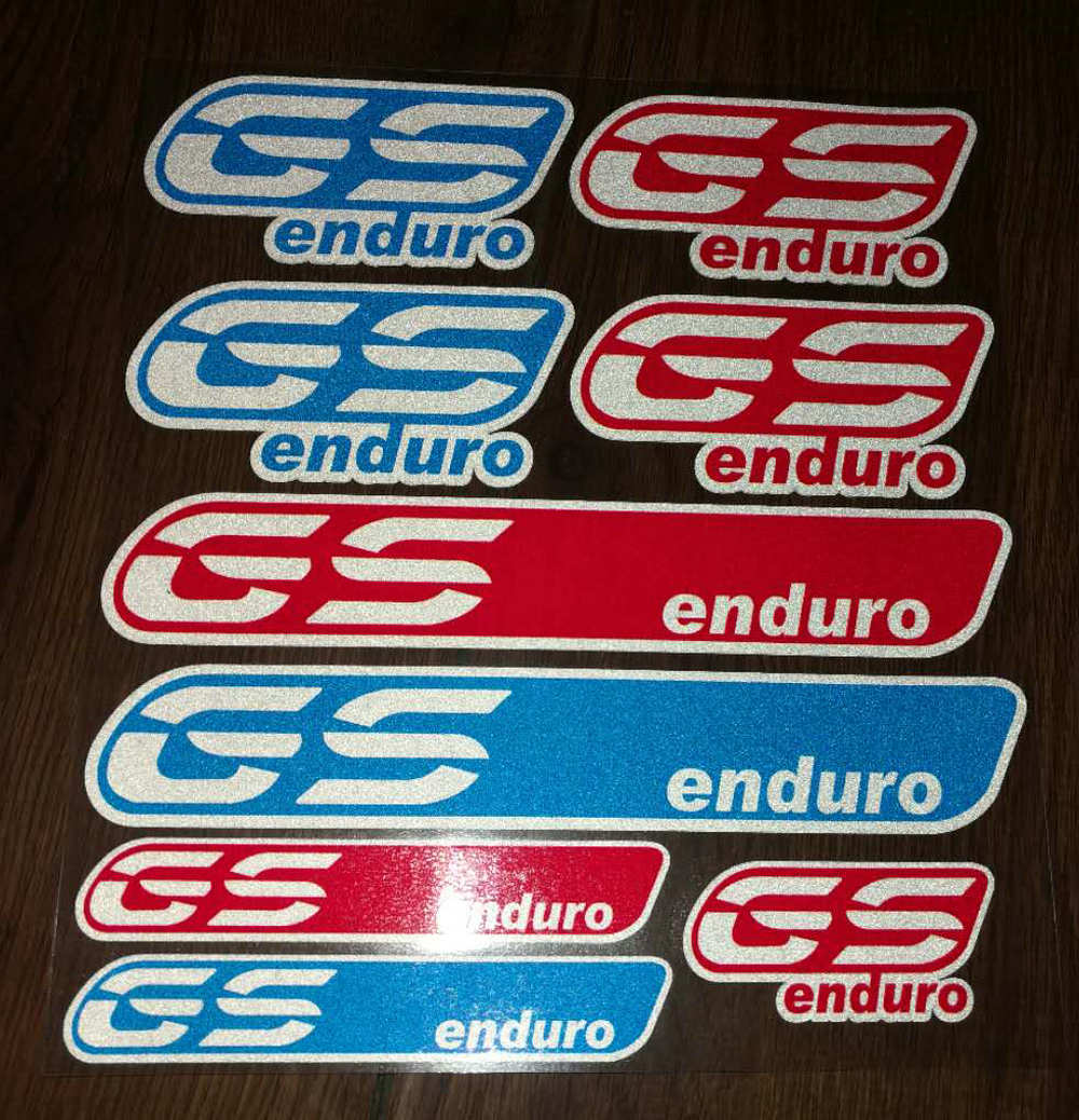 GS 30 Years Reflective Decal Sticker For BMW R1200GS//S1000XR//RS//F700GS//800GS ADV